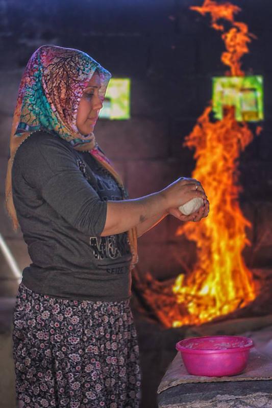 Tandır hamur hazırlama