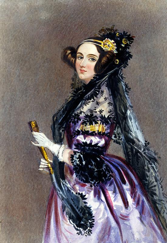 İlk Bilgisayar Programcısı Kadın Ada Lovelace..