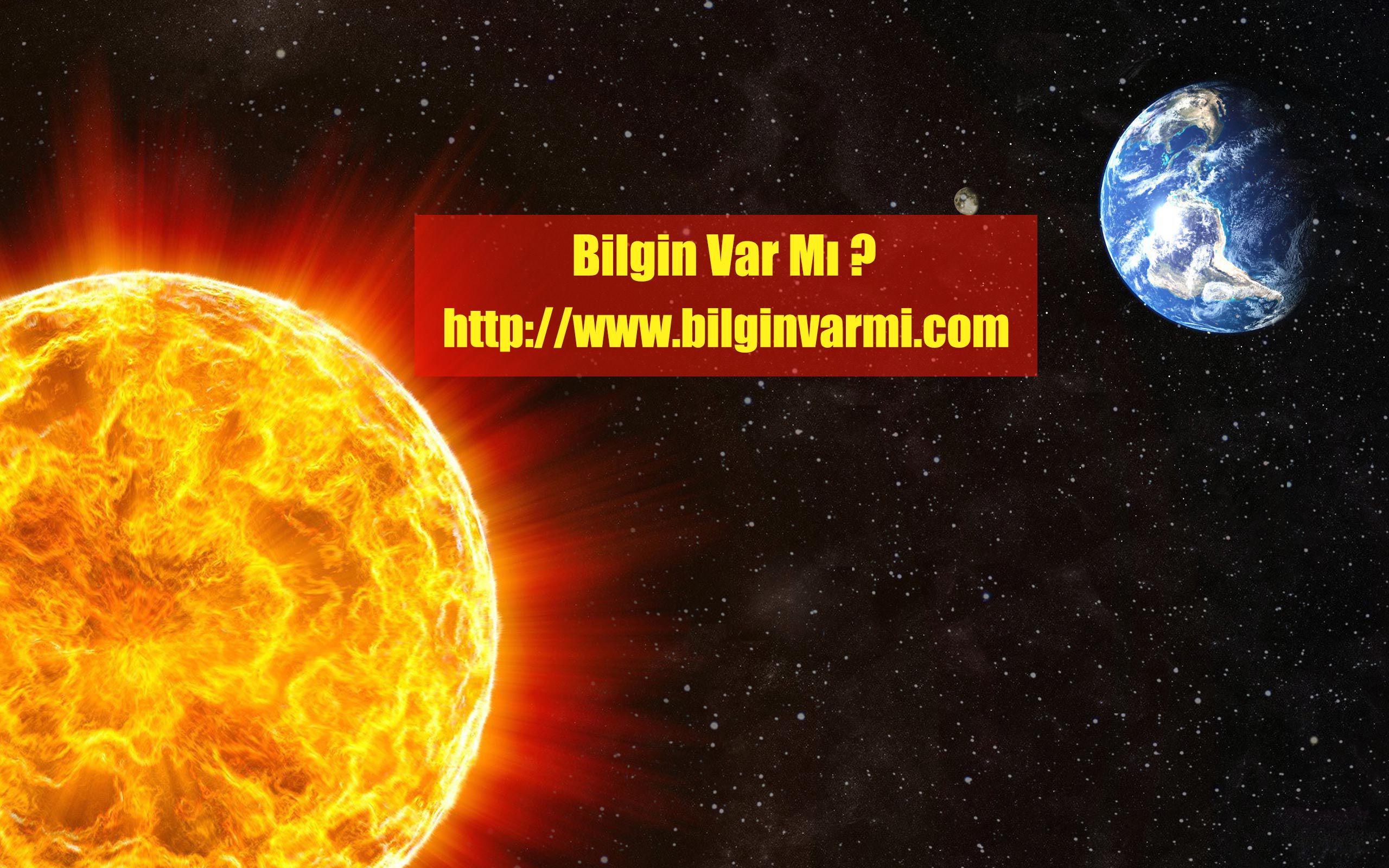 Güneş'in içine kaç dünya sığar ?