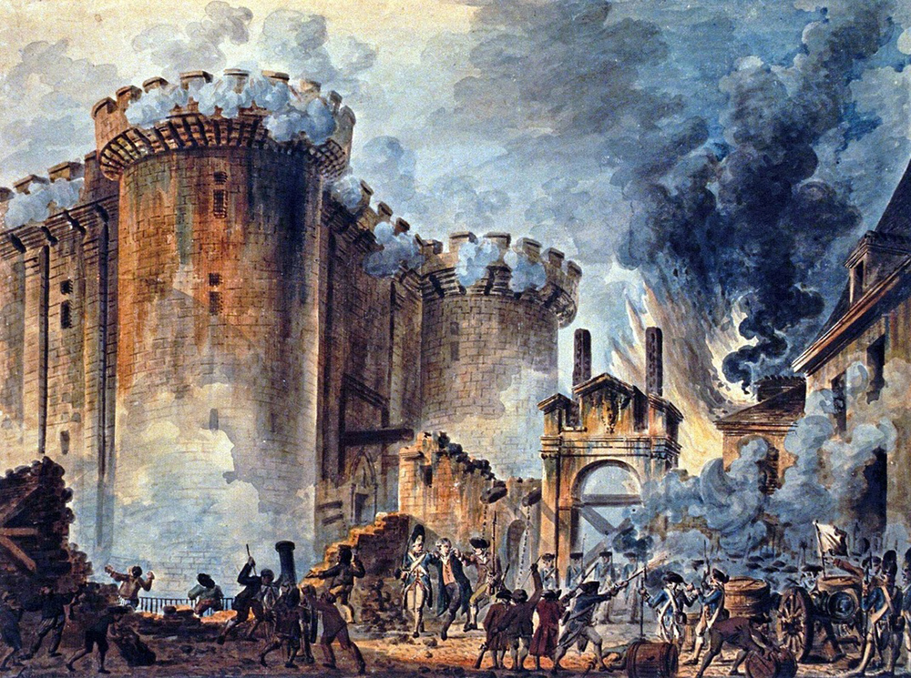 Bastille Bombardımanı - Fransız Devrimi