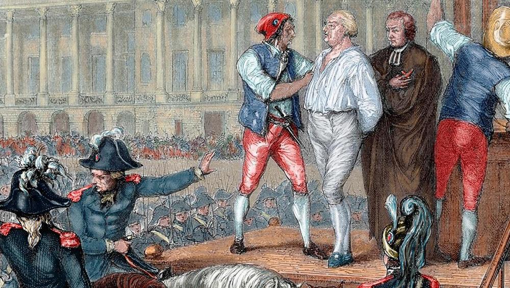 XVI. Lui Giyotine Giderken - Fransız Devrimi