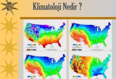 Klimatoloji Nedir ?