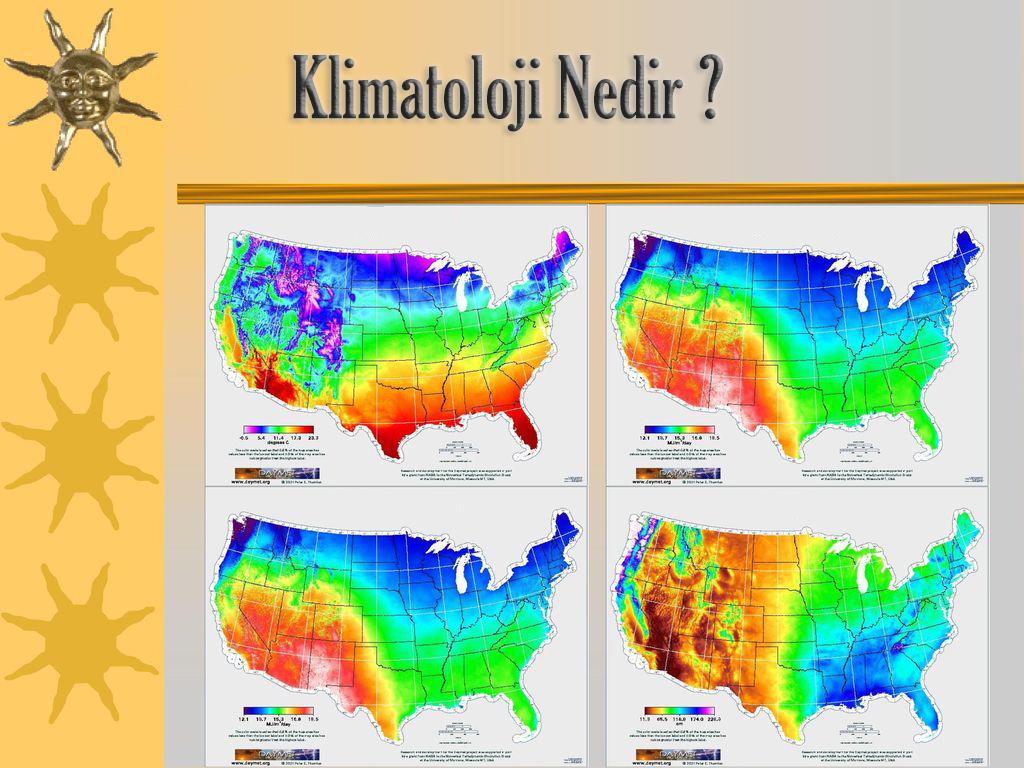 Klimatoloji Ne Demek ?