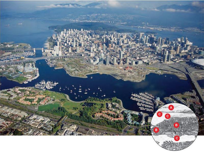 Vancouver Manzarası ve Coğrafyası