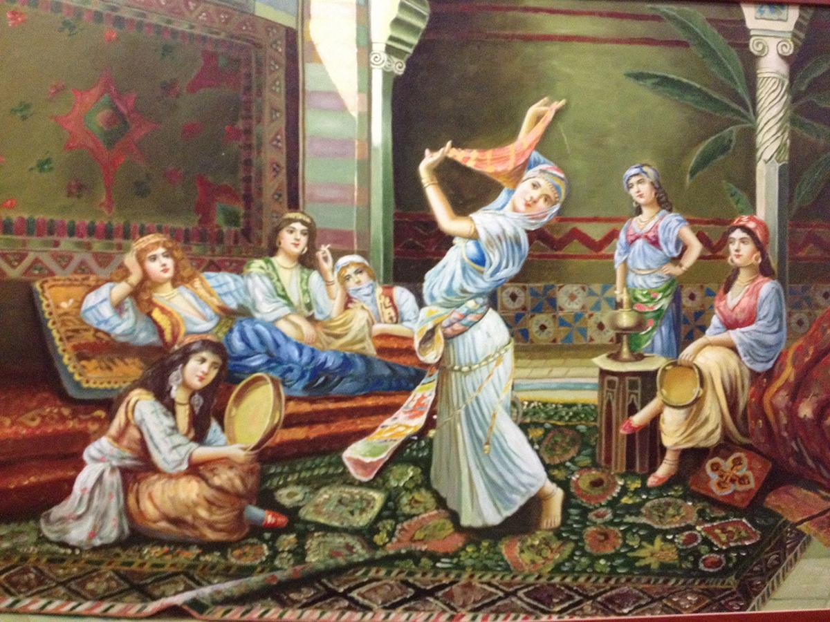 Osmanlı Harem ve Eğlence Hayatı