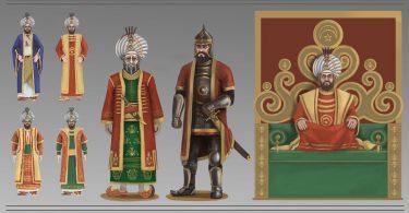 Osmanlı Padişahları Resmi