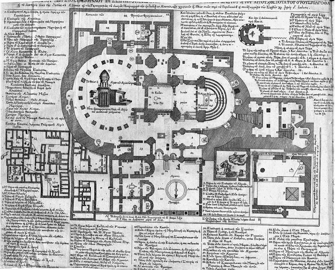 Kutsal Kabir Kilisesi Planı