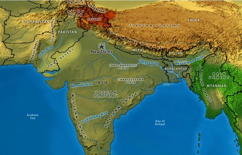 Hindistan Coğrafyası