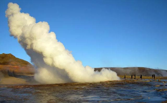 Büyük Gayzer, İzlanda