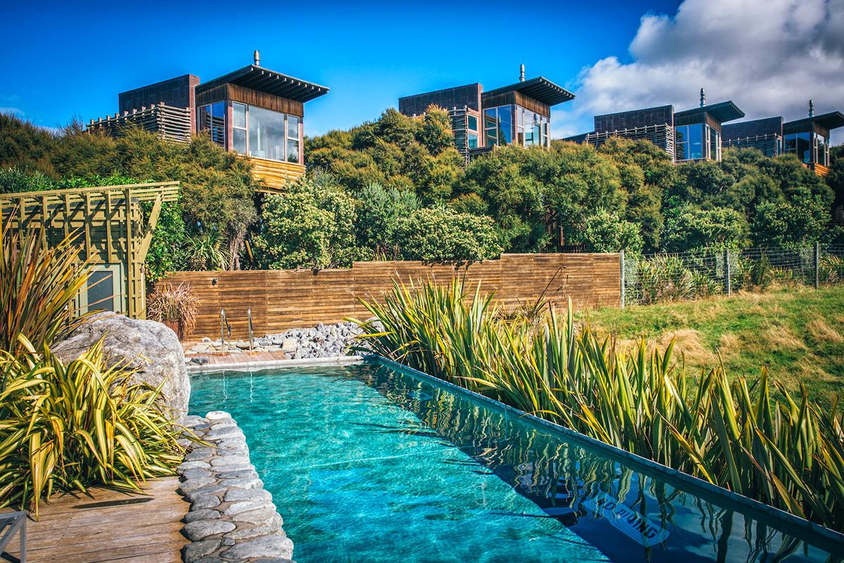 Hapuku Lodge ve Ağaç Evler - Yeni Zelanda. Seyahat Edilesi 6 Harika Yer
