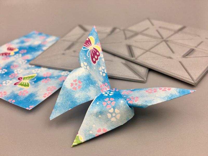 Islak Origami Örneği