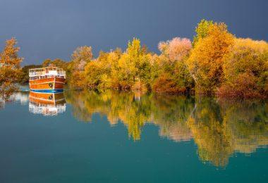 Manavgat Çayı Manzarası
