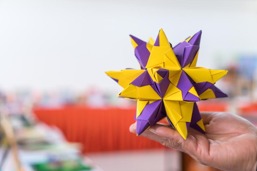 Modüler Origami Örneği. Origami Nedir ? Origami Ne Demek ?