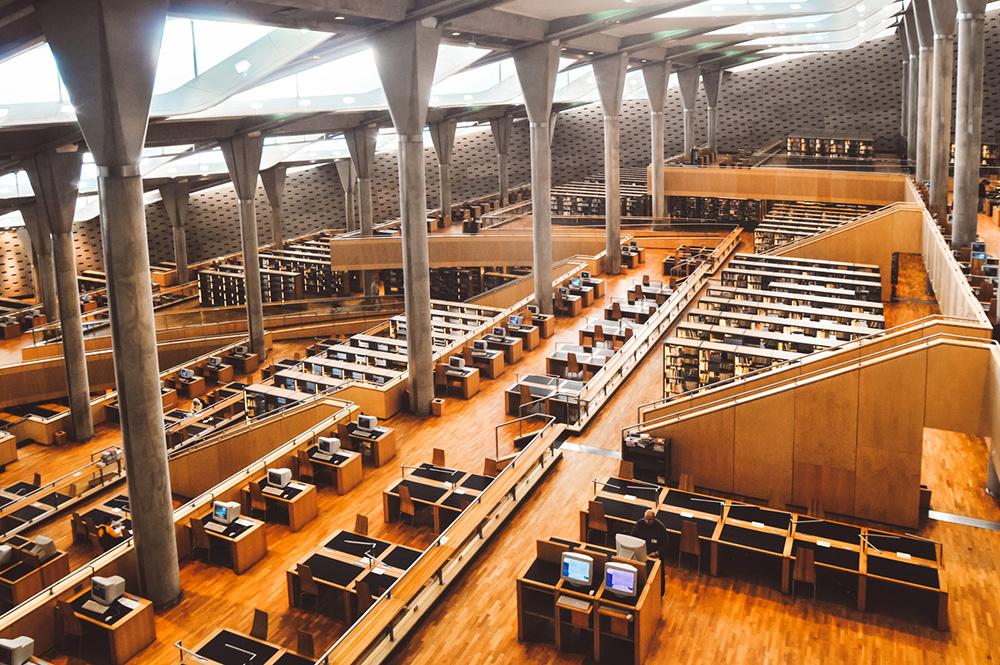 Bibliotheca Alexandrina - İskenderiye Kütüphanesi