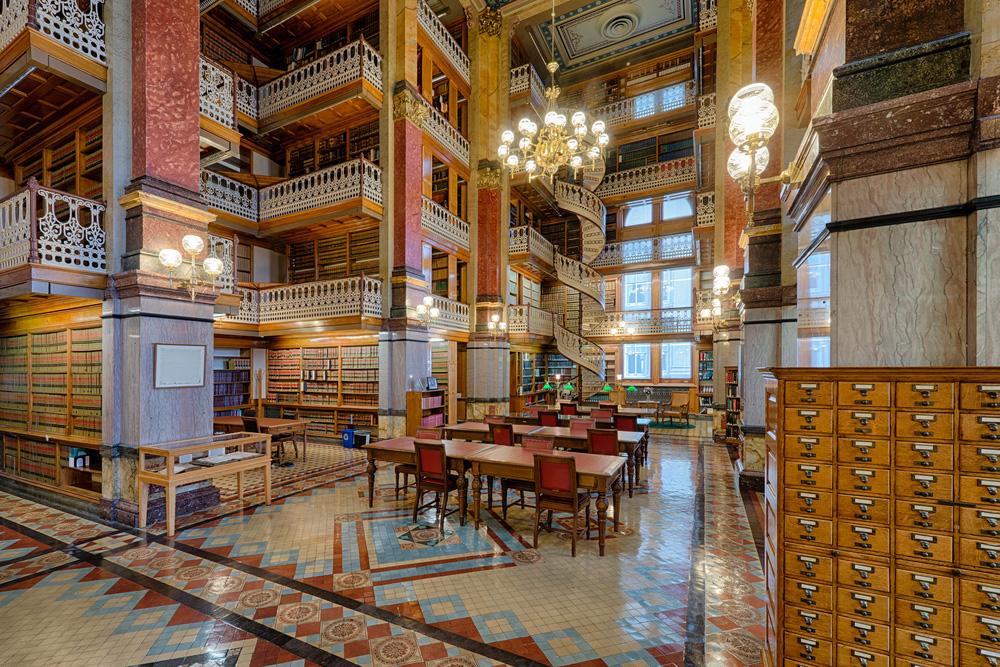 Iowa Eyaleti Hukuk Kütüphanesi. Dünyanın En Güzel 10 Kütüphanesi..