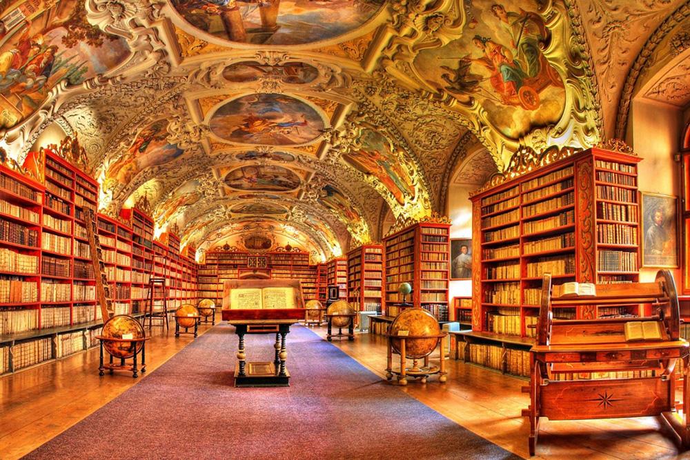Klementinum Kütüphanesi - Çek Cumhuriyeti