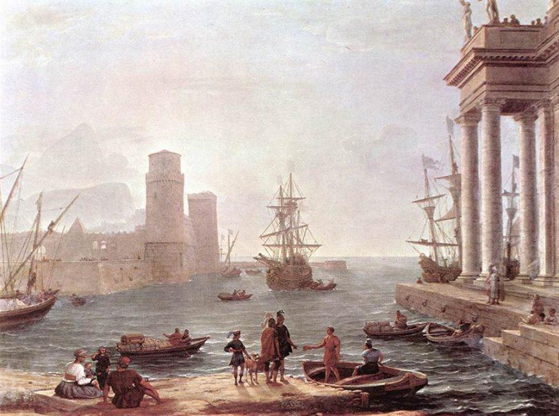 Odysseus'un destansı öyküsü