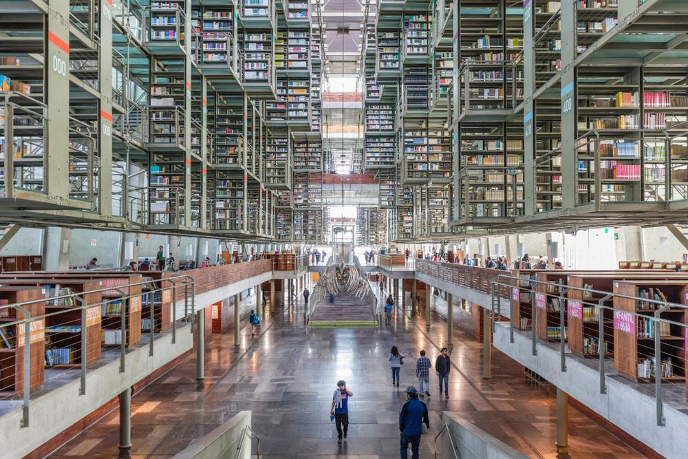 Vasconcelos Kütüphanesi - Megabiblioteca Library
