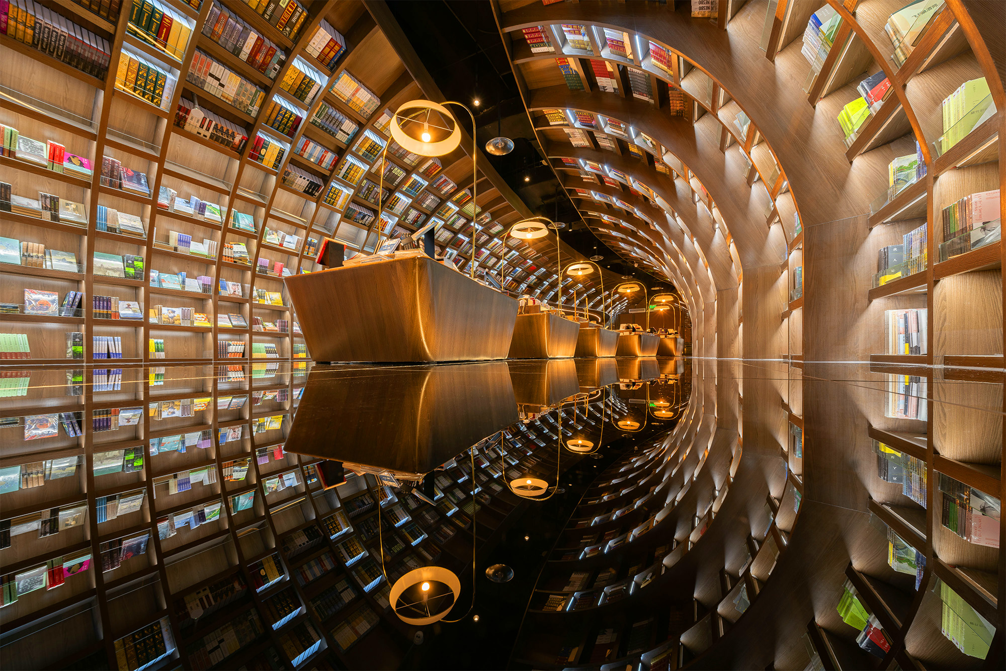 Yangzhou Zhongshuge Kütüphanesi. Dünyanın En Güzel 10 Kütüphanesi