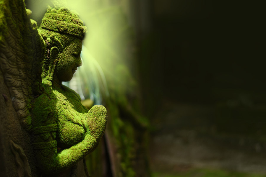 Brahman, Hint inanışına göre yeşil yosunu andırır.. Hindistan'ın Din'i Nedir?