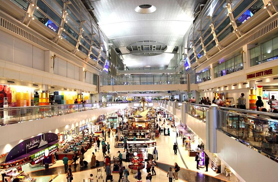 Dubai Uluslararası Havalimanı, Birleşik Arap Emirlikleri. Dünyanın En Yoğun 10 Havalimanı..