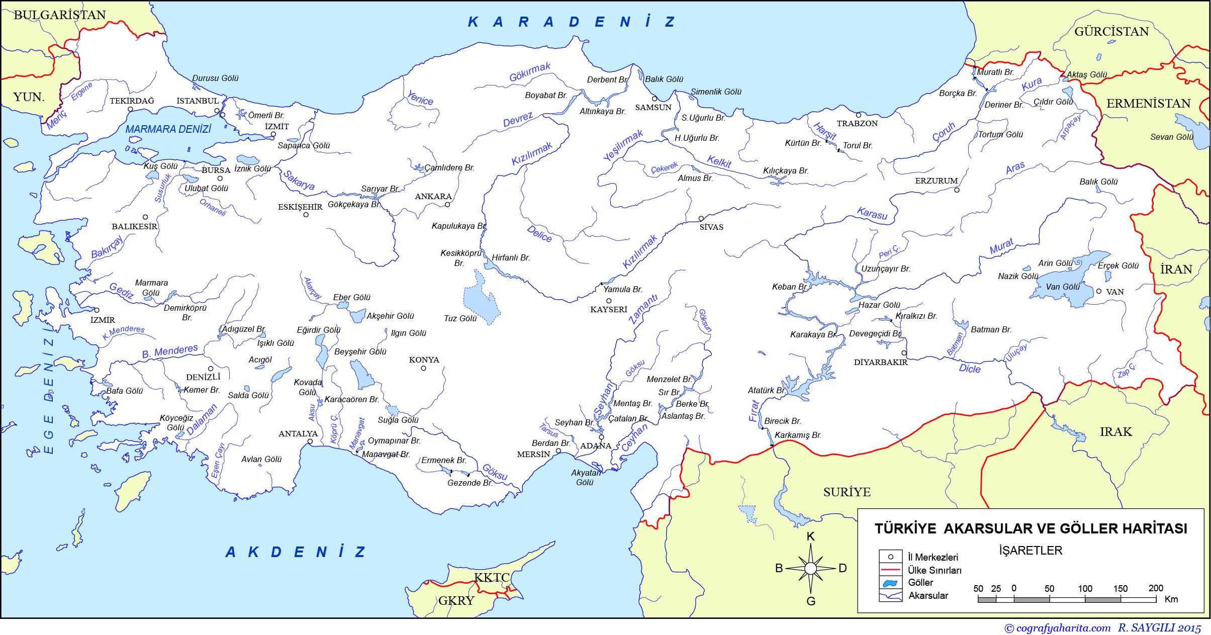 Türkiye'deki Akarsular