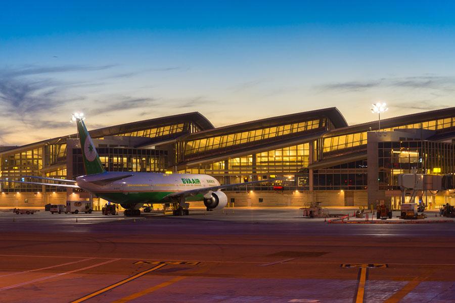 Los Angeles Uluslararası Havalimanı, Amerika Birleşik Devletleri. Dünyanın En Yoğun 10 Havalimanı..