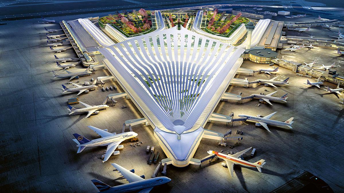O'Hare Uluslararası Havalimanı, Amerika Birleşik Devletleri. Dünyanın En Yoğun 10 Havalimanı..