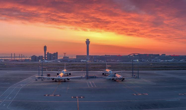 Tokyo Haneda Havalimanı, Japonya